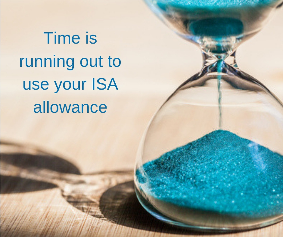 Time is running out to use your ISA allowance
